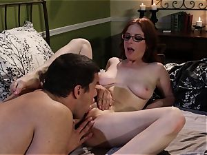 shy waitress Penny Pax porks her fantasy client