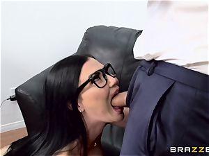 schlong choking british honey Jasmine Jae pounded in her booty