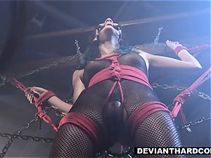 DeviantHardcore - Waterboarding nubile With man rod