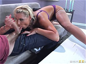 Phoenix Marie gets pummeled in the rump by large dicked Danny D