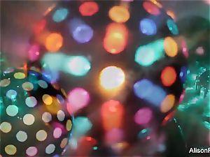cool immense boobed disco ball stunner