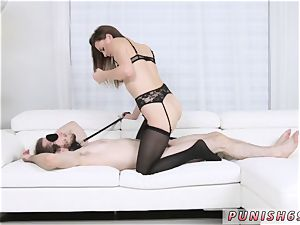 Model raunchy and buttfuck gag gape Alex Blake And Xianna Hill in 5 starlet hook-up For sensational