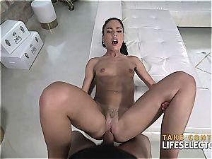 Apolonia Lapiedra - uber-cute poke whore (point of view)