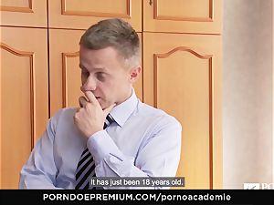 porno ACADEMIE - nubile luvs insane ass fucking boinking