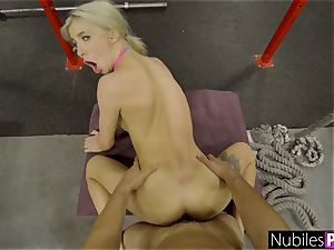 cock-squeezing Kenzie Reeves Gets nubile fuckbox opened up S1:E3