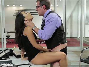 sex-positive japanese assistant gets smashed in the office